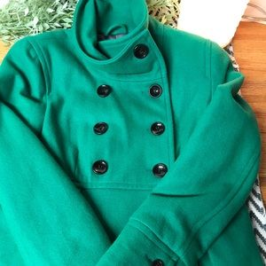 NWT Old Navy double breasted pea coat